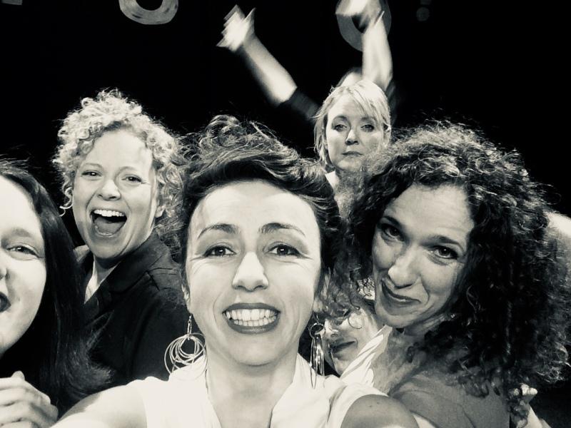Csenge Zalka, Clare Murphy, Debs Newbold, Rachel Rose Reid, Judith Faultless 2019 WWGNFs